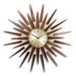 60s Pluto Starburst Clock